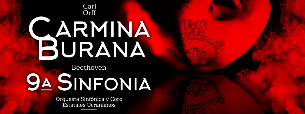 CARMINA BURANA, Carl Orff / 9ª SINFONÍA, Beethoven